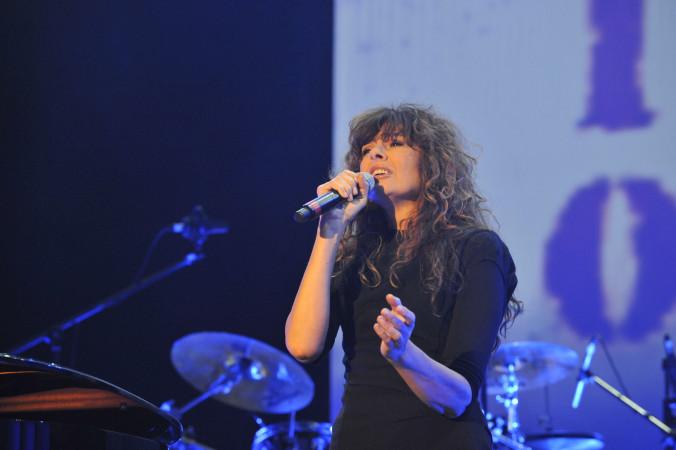 © Massimo Forchino / lapresse 12-11-2009 Sanremo, Italia spettacolo Premio Tenco - Festival della Canzone d'Autore Nella Foto:Alice
