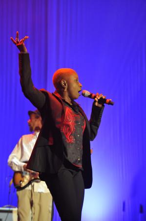© Massimo Forchino / lapresse12-11-2009 Sanremo, ItaliaspettacoloPremio Tenco - Festival della Canzone d'AutoreNella Foto:Angelique Kidjo