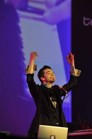 © Massimo Forchino / lapresse14-11-2009 Sanremo, ItaliaspettacoloPremio Tenco - Festival della Canzone d'AutoreNella Foto: Morgan