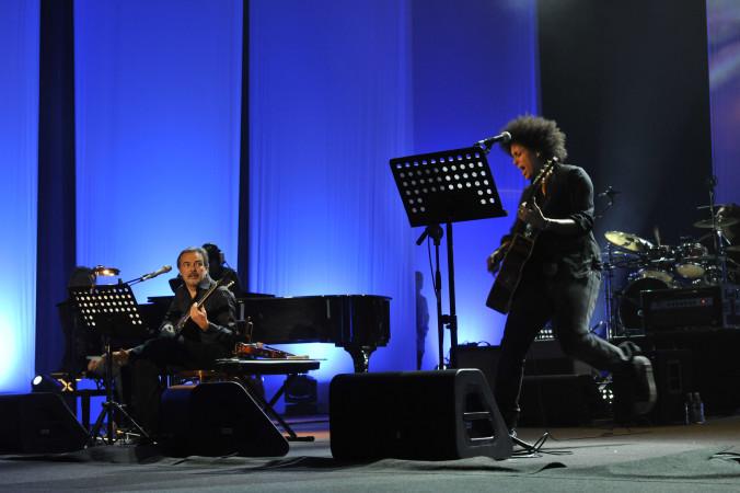 © Massimo Forchino / lapresse14-11-2009 Sanremo, ItaliaspettacoloPremio Tenco - Festival della Canzone d'AutoreNella Foto: Mauro Pagani, Z-Star
