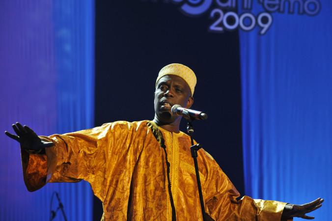 © Massimo Forchino / lapresse 14-11-2009 Sanremo, Italia spettacolo Premio Tenco - Festival della Canzone d'Autore Nella Foto : Badara Seck