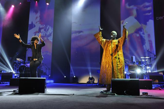 © Massimo Forchino / lapresse14-11-2009 Sanremo, ItaliaspettacoloPremio Tenco - Festival della Canzone d'AutoreNella Foto: Z-STAR, Badara Seck